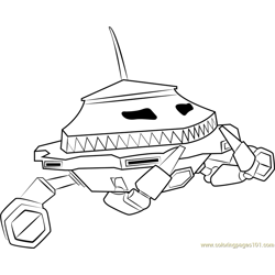 Probe Free Coloring Page for Kids
