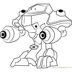 Super Duper Probe coloring page