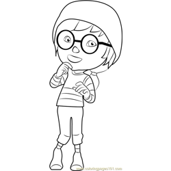 Ying Free Coloring Page for Kids