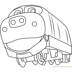 Brewster Free Coloring Page for Kids