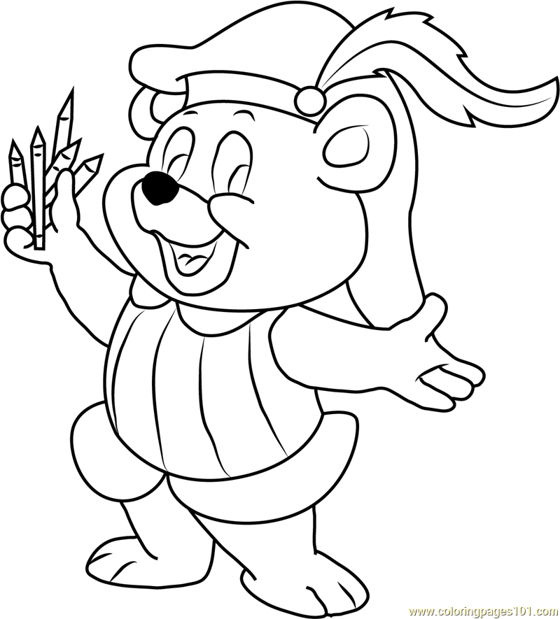 Cubbi Gummi Coloring Page For Kids Free Disney S Adventures Of The Gummi Bears Printable Coloring Pages Online For Kids Coloringpages101 Com Coloring Pages For Kids