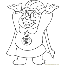 Adventures of the Gummi Bears coloring page