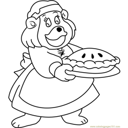 Grammi Gummi Free Coloring Page for Kids