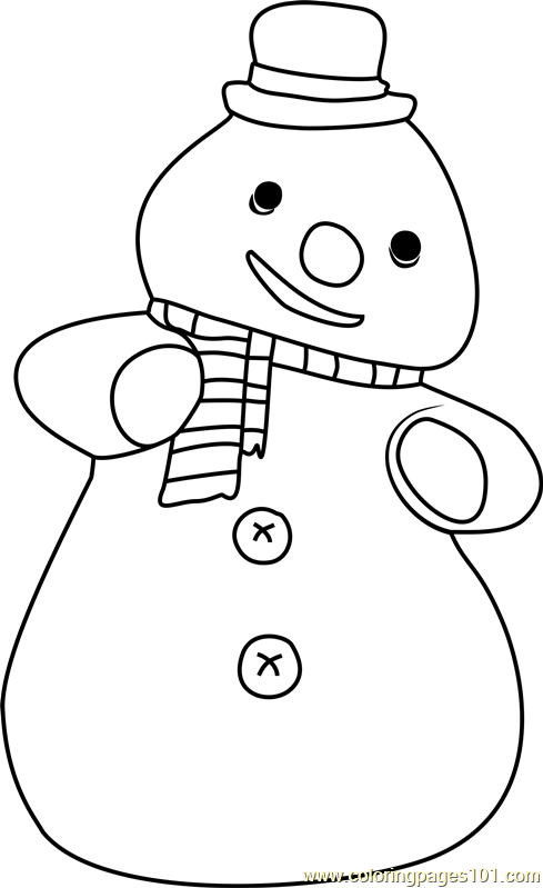 Chilly McStuffins Coloring Page