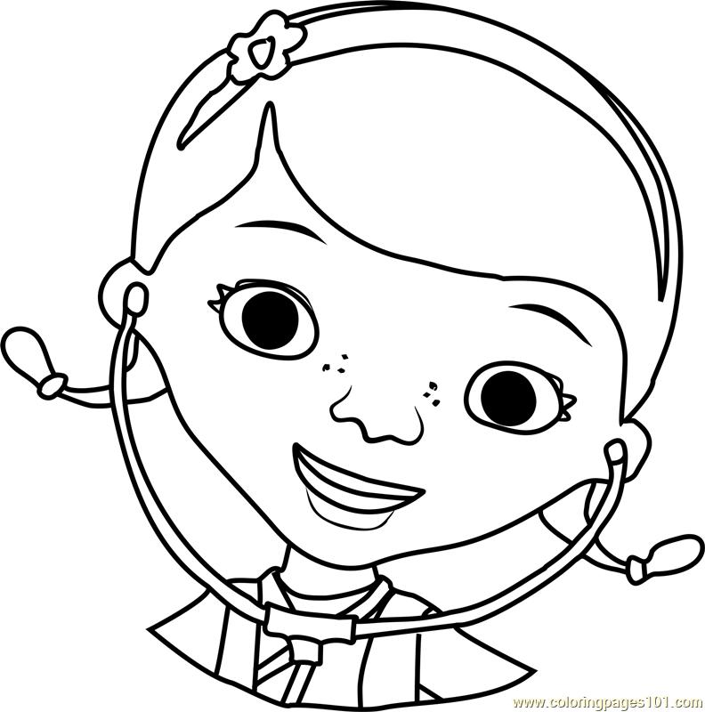 Doc McStuffins Coloring Page Free Doc McStuffins Coloring Pages