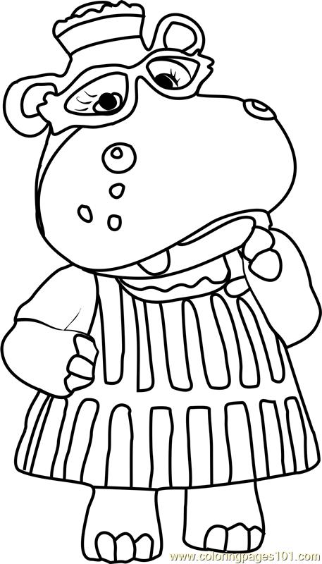 Hallie McStuffins Coloring Page  Free Doc McStuffins Coloring