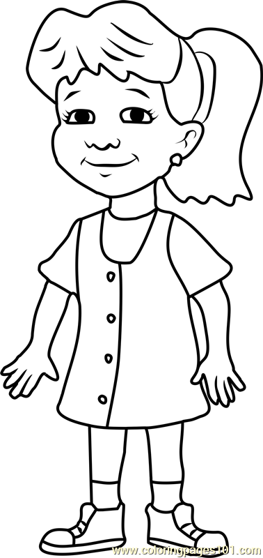 Dragon Tales Emmy Coloring Page Free Dragon Tales