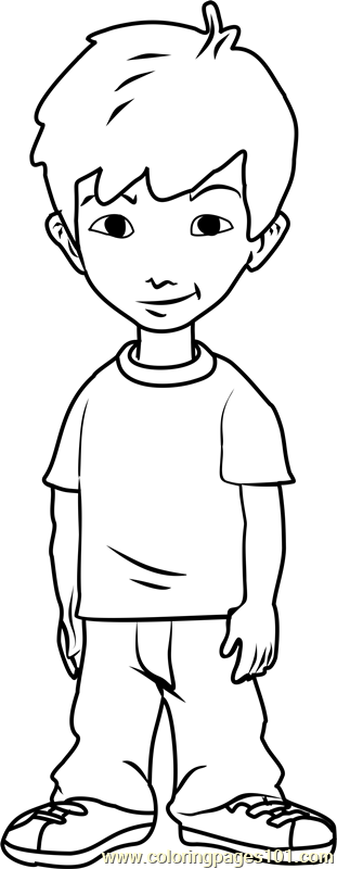 Dragon Tales Enrique Coloring Page Free Dragon Tales