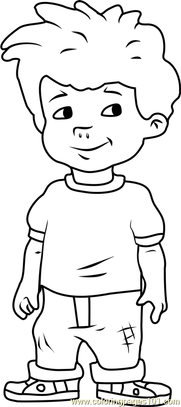 Dragon Tales Max Coloring Page
