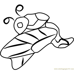 Dragon Tales Dragonslug Free Coloring Page for Kids