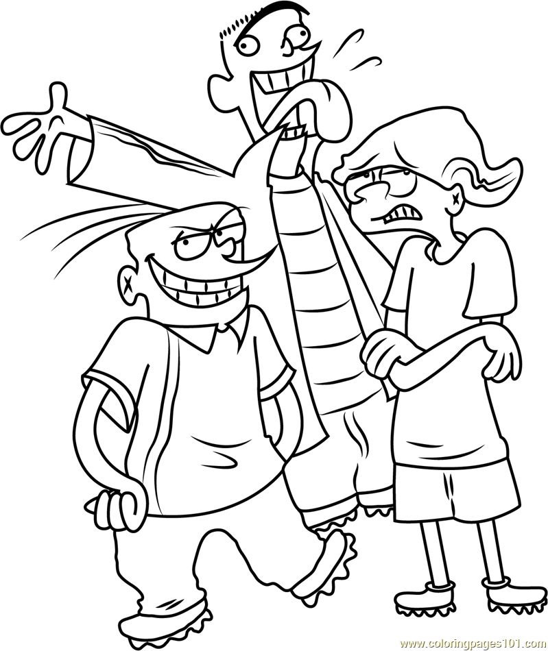 Happy All Time Coloring Page - Free Ed, Edd n Eddy Coloring Pages ...