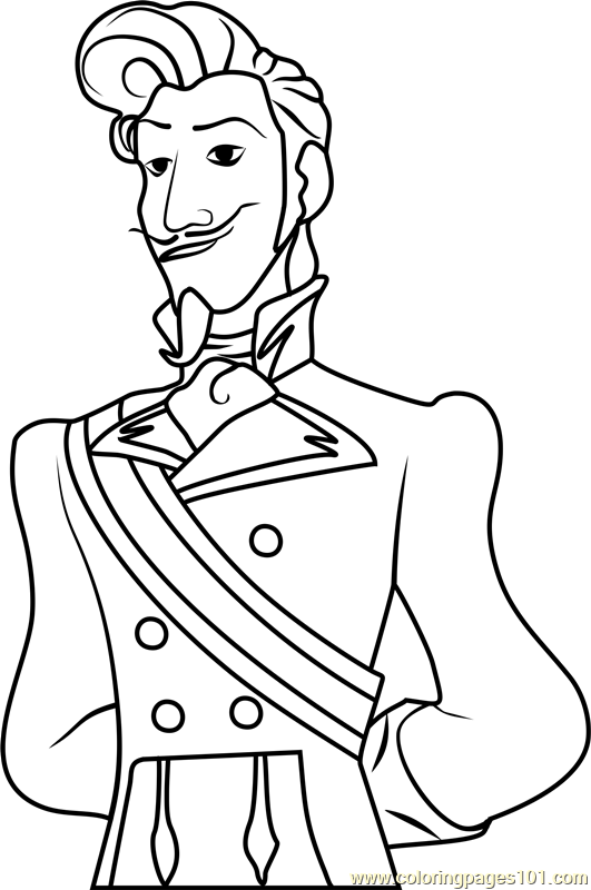 Chancellor Esteban Coloring Page