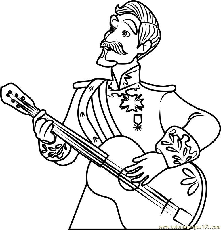 Francisco Coloring Page