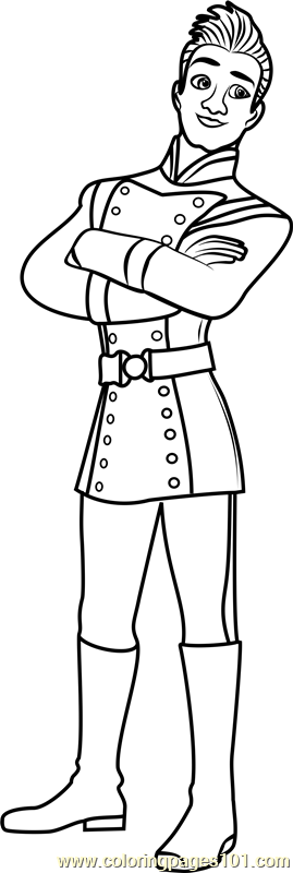 Gabe coloring page free elena of avalor coloring pages for Elena of avalor coloring pages