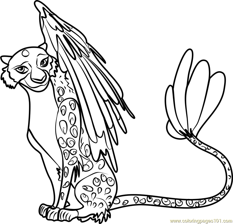 - Luna Coloring Page - Free Elena Of Avalor Coloring Pages :  ColoringPages101.com