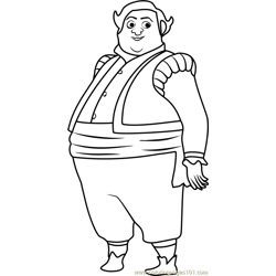 Armando Free Coloring Page for Kids