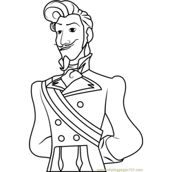 Chancellor Esteban Free Coloring Page for Kids