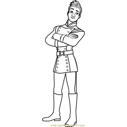 Gabe Free Coloring Page for Kids