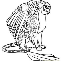 Migs Free Coloring Page for Kids
