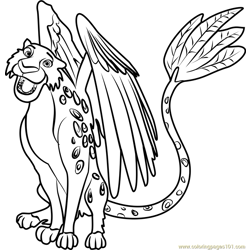 Skylar Free Coloring Page for Kids