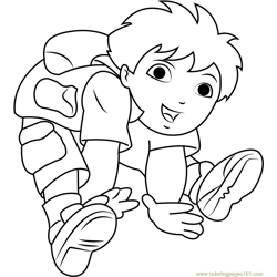 Cute Diego Marquez coloring page