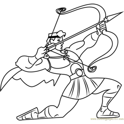 Hercules with Bow and Arrow