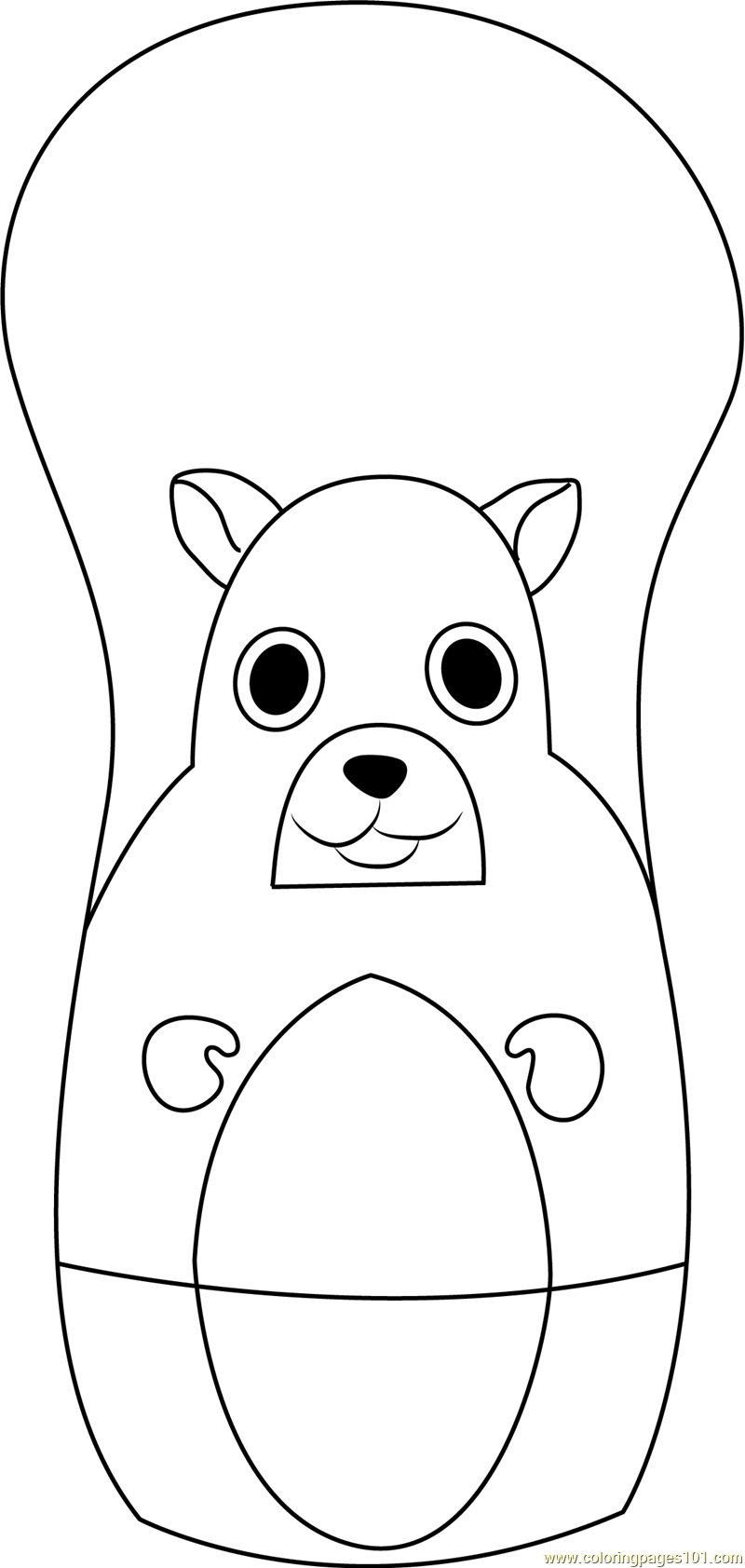 Higglytown heroes sitting coloring page free higglytown for Higglytown heroes coloring pages