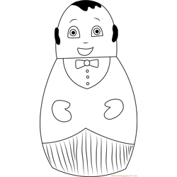 Higglytown Heroes Happy Free Coloring Page for Kids