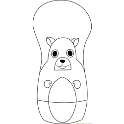 Higglytown Heroes Sitting coloring page