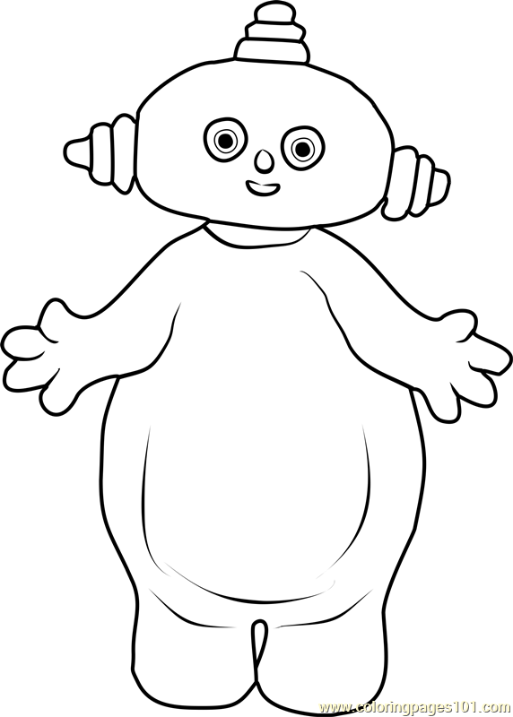Makka Pakka Coloring Page Free In the Night Garden Coloring Pages
