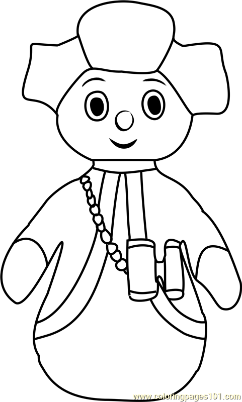 pontipines coloring pages - photo#2