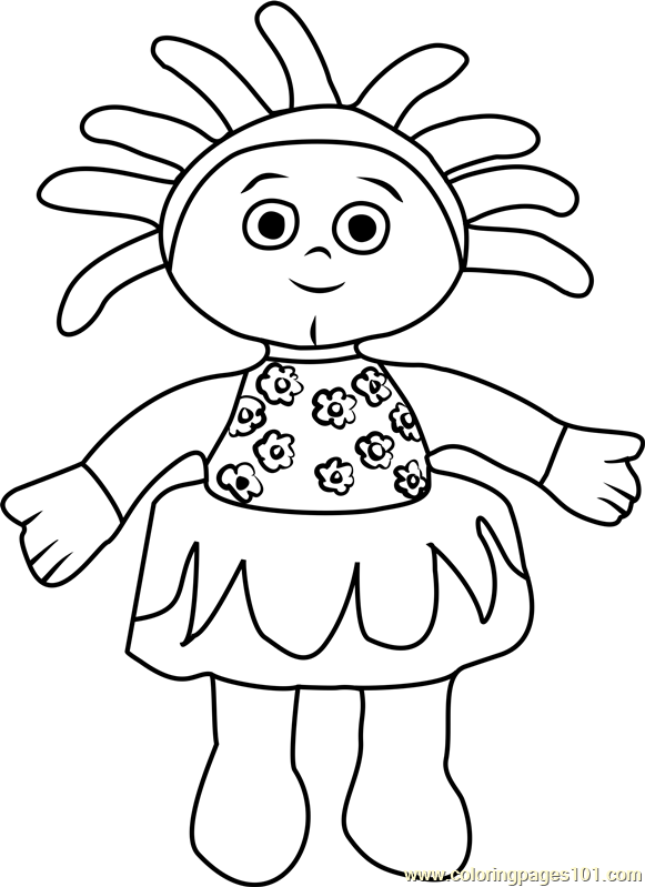 pontipines coloring pages - photo#17