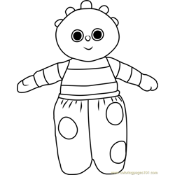 Eee coloring page