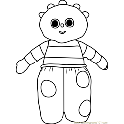 Ooo Free Coloring Page for Kids