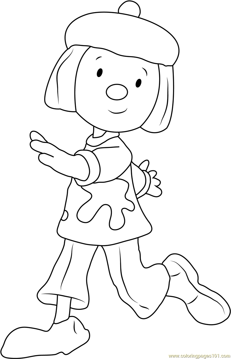 jojos circus coloring pages - photo#31