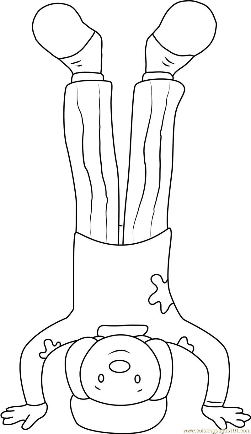 jojo stand on his head coloring page free jojo u0027s circus coloring