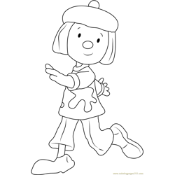 JoJo Free Coloring Page for Kids