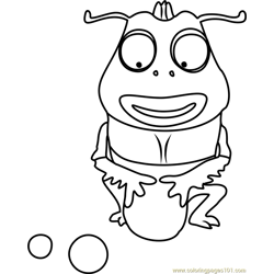 Brown coloring page