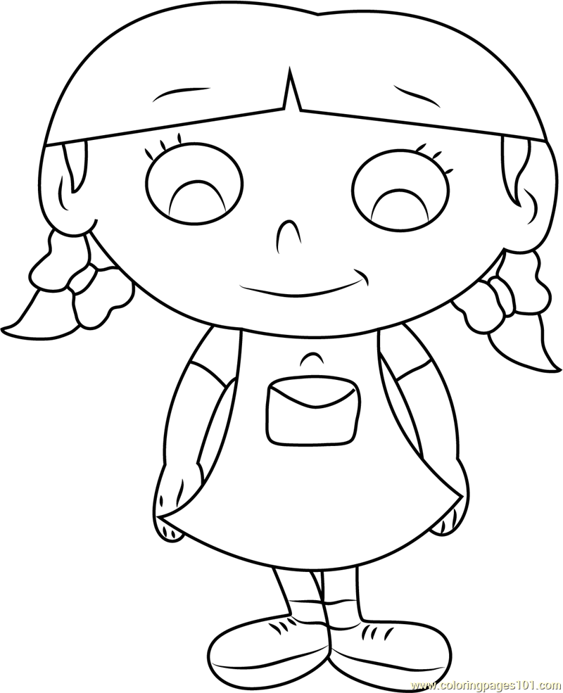 Little Einsteins Annie Coloring Page