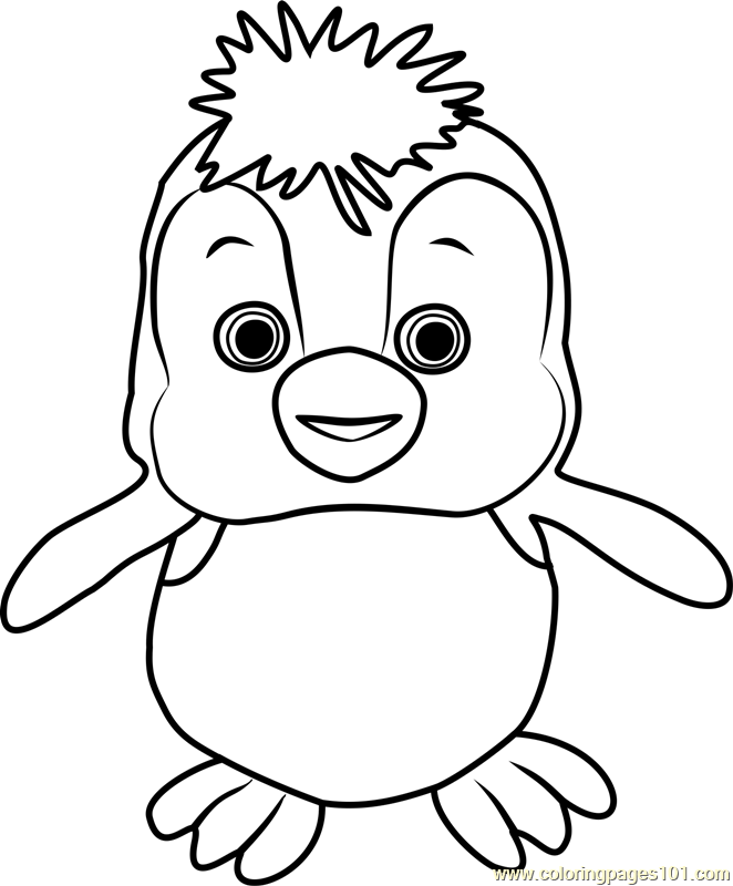 Penguin Coloring Page Free Masha And The Bear Coloring Pages Penguin Coloring Pages