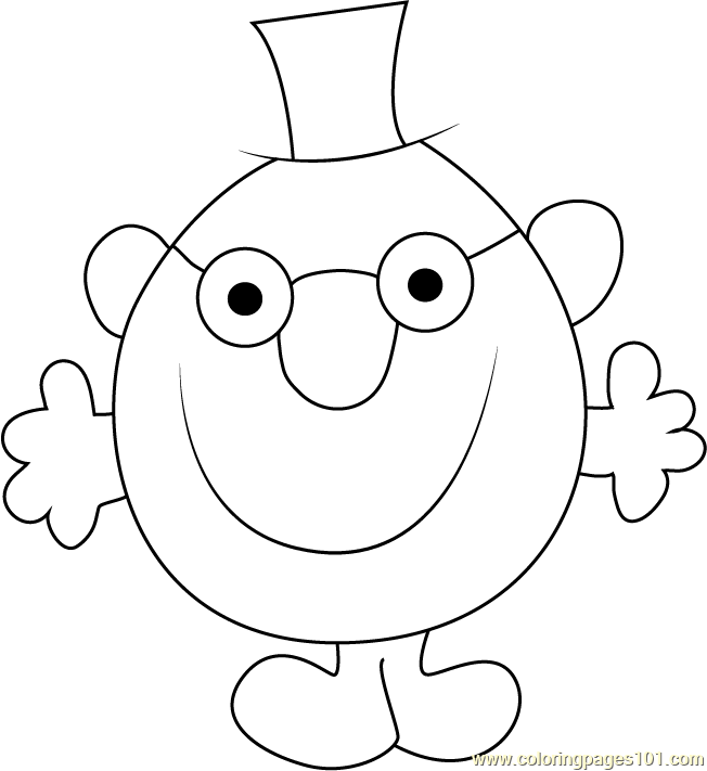 Worksheet. Mr Clever Coloring Page  Free Mr Men Coloring Pages