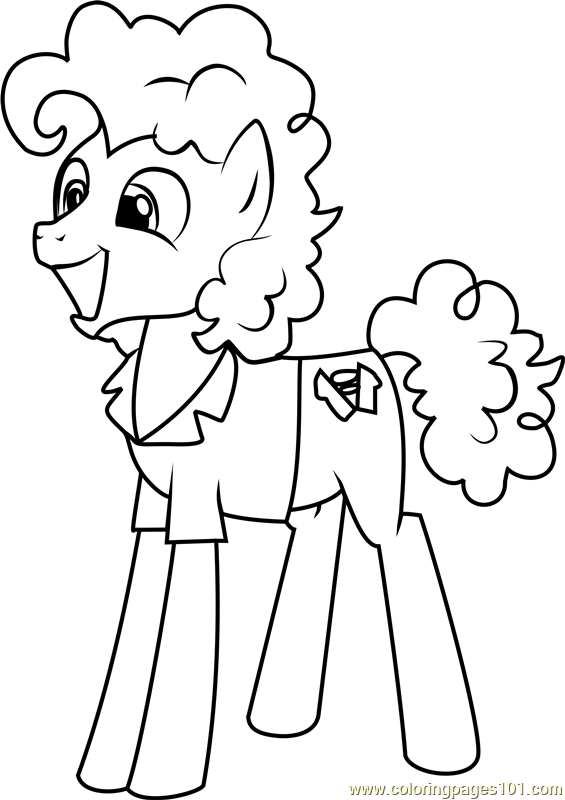 Filly Rarity Coloring Page - My Little Pony Friendship Is ...