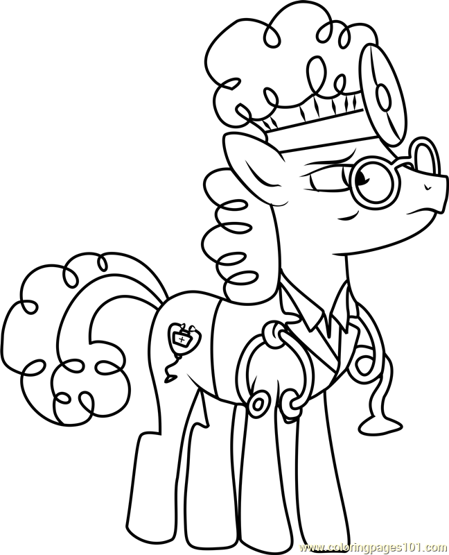 Doc Top Coloring Page