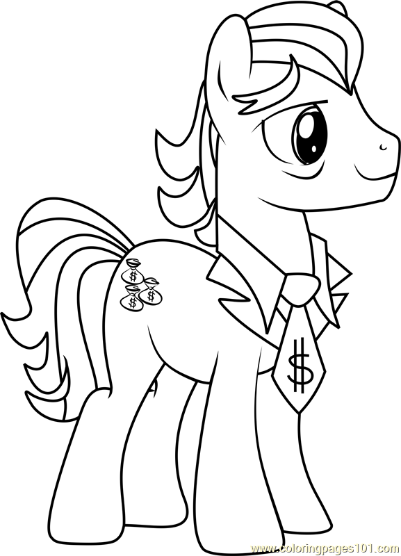 Filthy Rich Coloring Page Free