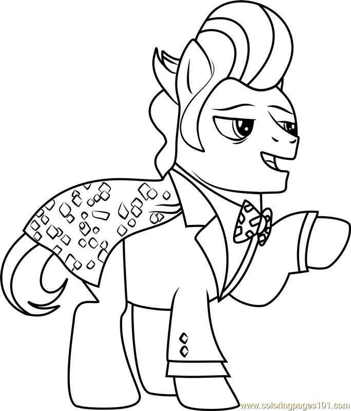 Gladmane Coloring Page