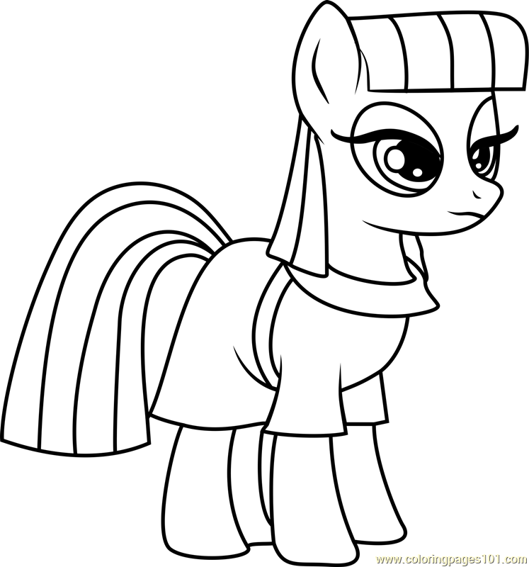 Maud Pie Coloring Page