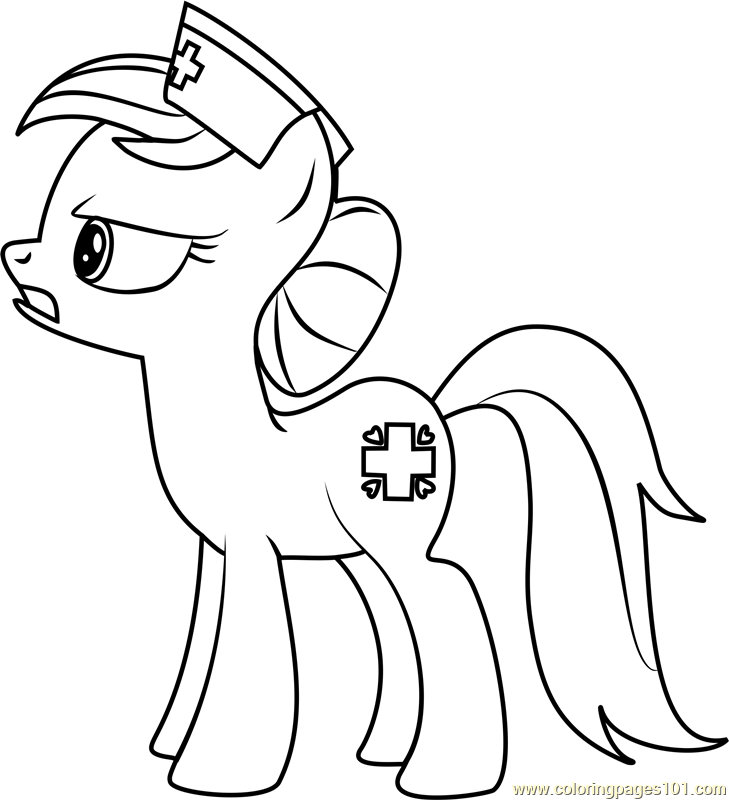 Nurse Redheart Coloring Page