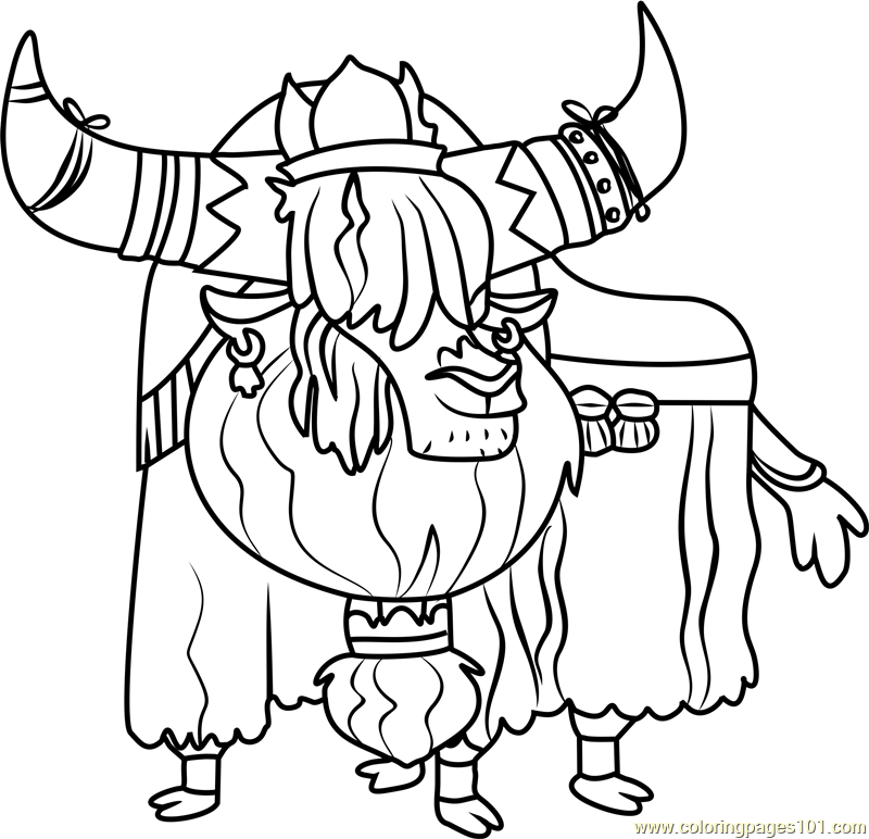 Prince Rutherford Coloring Page