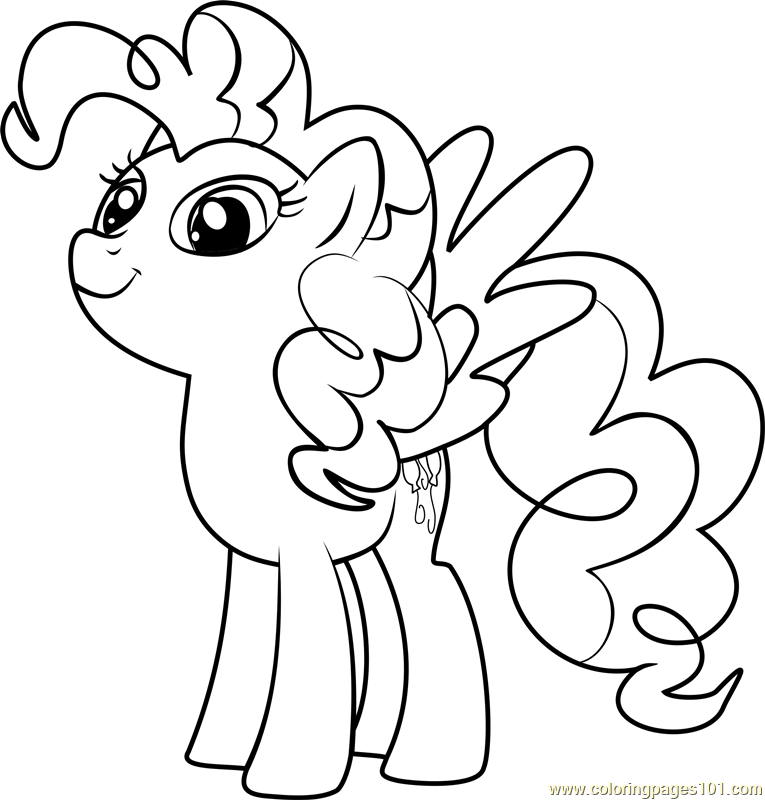 Surprise Coloring Page Free My Little Pony Friendship