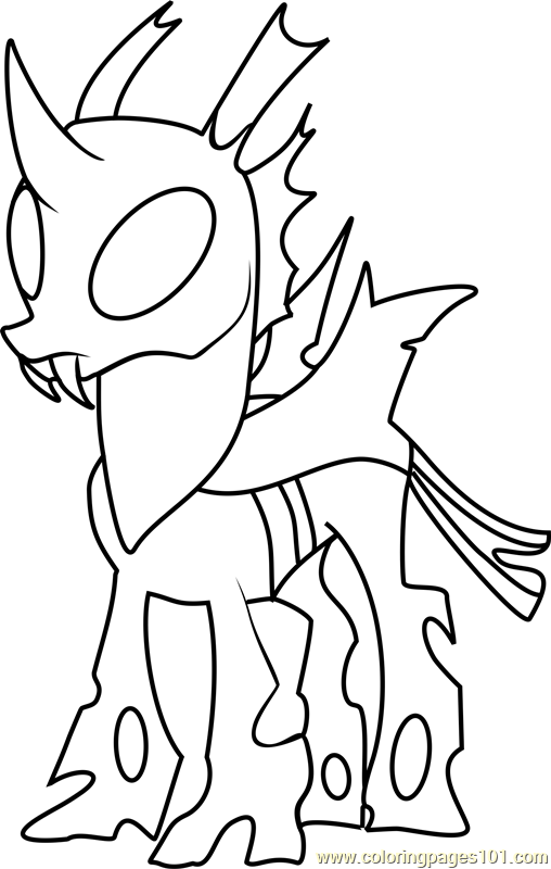 Thorax Mature Coloring Page Free